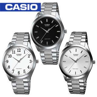 【CASIO 卡西歐】白領階級/上班族/紳士石英男錶(MTP-1274D)