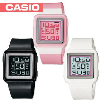 【CASIO 卡西歐】送禮首選-甜美氣質淑女腕錶(LDF-20)