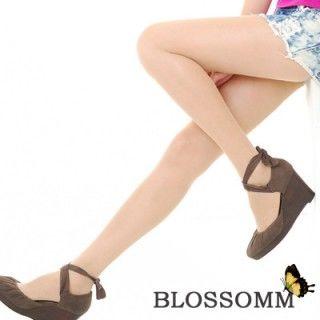 【Blossom Gal】OL最愛超舒適檸檬果酸彈性褲襪(透膚)