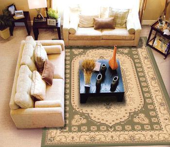 【范登伯格 】克拉瑪 75萬針皇室風格進口地毯/地墊- 綠-240x340cm