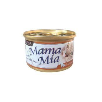 【SEEDS】聖萊西 MAMAMIA貓餐罐-雞肉+鮪魚 85G x 24入