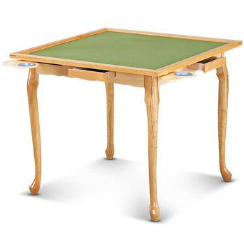 【MY傢俬】簡約設計多功能折合麻將桌(兩色可選)