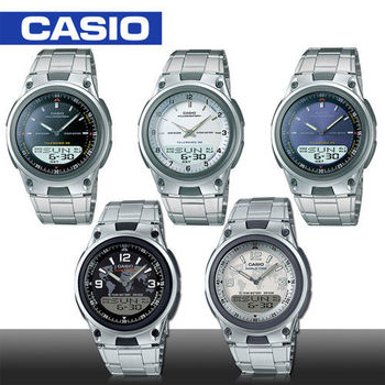 【CASIO 卡西歐】日系-雙顯型電子錶(AW-80D)