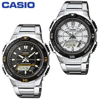 【CASIO 卡西歐】日系-太陽能電力-雙顯錶(AQ-S800WD)