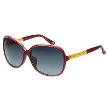 GUCCI- 奢華鍍金款 太陽眼鏡 (粉色)