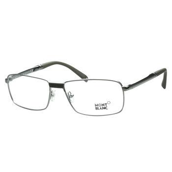 萬寶龍MONTBLANC 光學眼鏡 (鐵灰色)MB348-008