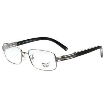 萬寶龍MONTBLANC 光學眼鏡 (鐵灰色)MB384-012