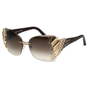 SWAROVSKI-限量豪華 太陽眼鏡 (金色) 豪華全球限量款