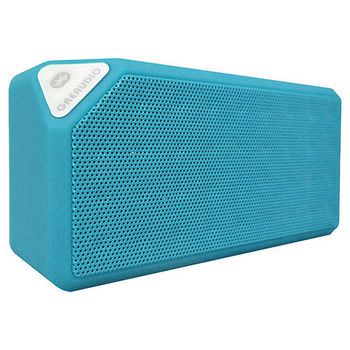 Greaudio Freelander M3 攜帶型藍芽喇叭--藍色-支援 NFC/FM Radio/MP3記憶卡