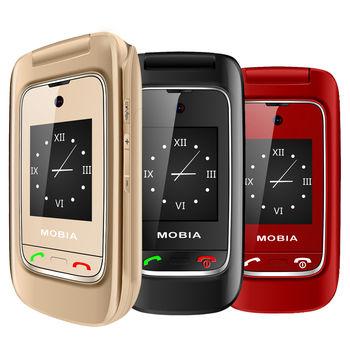 摩比亞MOBIA M300+ 2.4吋雙卡雙待3G摺疊機