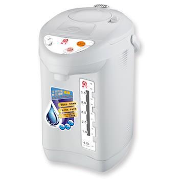 【晶工】4L電動/碰杯/氣壓熱水瓶 JK-8540