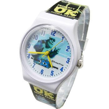 【迪士尼】怪獸大學手錶-毛怪黑(MU-4029)