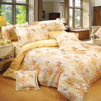 【Novaya諾曼亞】《晴冉子》絲光棉雙人七件式鋪棉床罩組