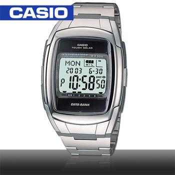 【CASIO 卡西歐】日系-太陽能資料記憶多功能運動錶DB-E30D)