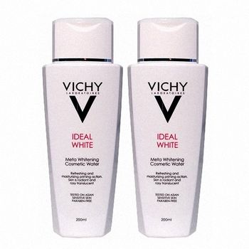 VICHY薇姿 淨膚透白面膜精華水200ml兩入組