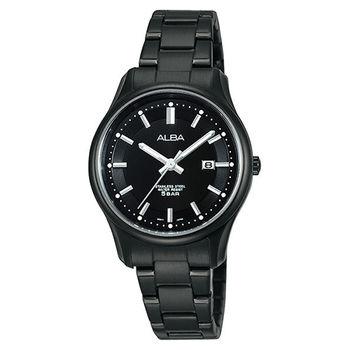ALBA 自由之心簡約時尚女錶-黑 VJ22-X191SD(AH7E63X1)