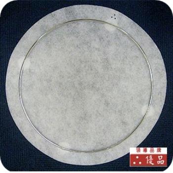 【優品】新一代圓滿型加厚油煙過濾棉(27公分圓型安全架x2+圓棉x30)