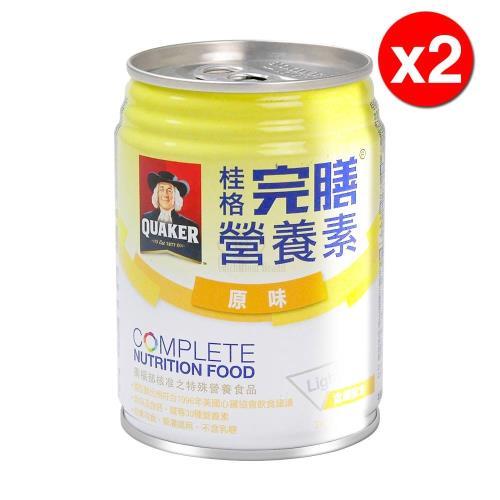 【桂格完膳】桂格完膳營養素250mlX24入X2箱(含纖配方-原味)