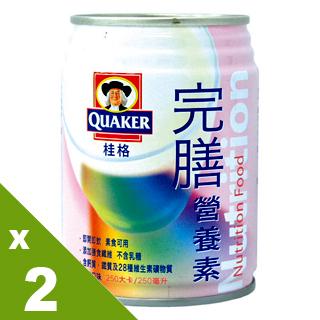 【桂格完膳】完膳營養素250mlX24入草莓口味(2箱)