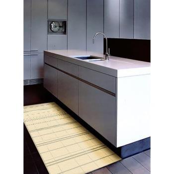 【范登伯格】爵士時尚流行的超現代進口類亞麻室內外地毯/踏墊(米)60x110cm