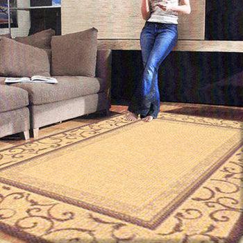 【范登伯格 】凱蒂營造復古氛圍進口類亞麻地毯/地墊/玄關墊/床尾墊160x230cm