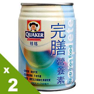 【桂格完膳】完膳營養素250mlX24入香草口味(2箱)