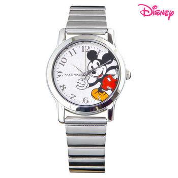 【Disney迪士尼】歡樂米奇氣質鋼帶錶 SL-33E01