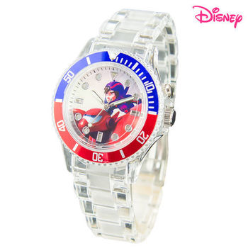 【Disney迪士尼】大英雄天團搖滾杯麵炫光錶PV-40A01