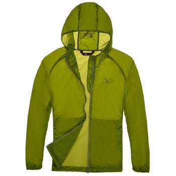 【聖伯納 St.Bonalt】童款連帽超輕透氣防曬風衣-草綠(4060)