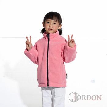【JORDON】WINDSTOPPER+POLARTEC/獨家二合一技術 兒童刷毛防風外套 285
