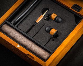 Chord&Major 台灣精品 全木製 創新音樂技術 好音質 世界音樂調音 5'14調性 入耳式耳機 附精美收納盒