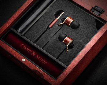 Chord&Major 台灣精品 全木製 創新音樂技術 好音質 古典音樂調音 9'13調性 入耳式耳機 附精美收納盒