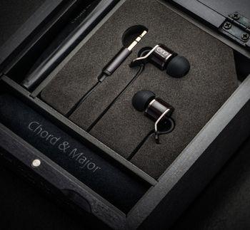 Chord&Major 台灣精品 全木製 創新音樂技術 好音質 搖滾音樂調音 8'13調性 入耳式耳機 附精美收納盒