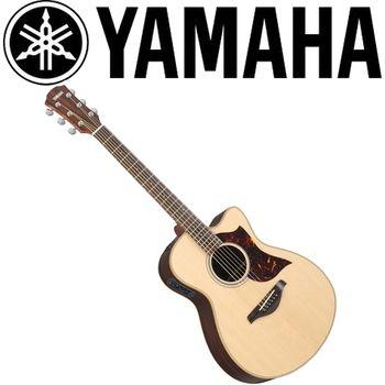 【YAMAHA 山葉】A系列電民謠吉他/電木吉他/原木色-公司貨保固 (AC1R)