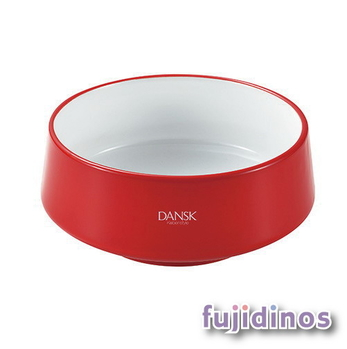 Fujidinos【DANSK】琺瑯材質餐碗(紅色)