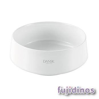 Fujidinos【DANSK】琺瑯材質餐碗(白色)