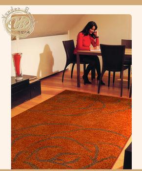 【范登伯格】韻緻野豔玫瑰園進口厚織地毯160x230cm