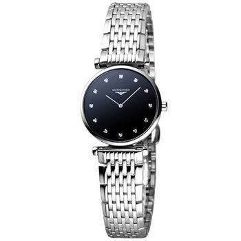 LONGINES 嘉嵐系列 12顆真鑽女錶  L42094586