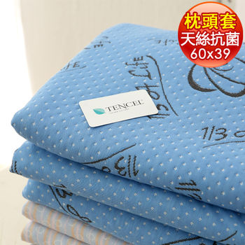 【1/3 A Life】尊爵天絲-記憶枕專用換洗布套(雙頭型2入)