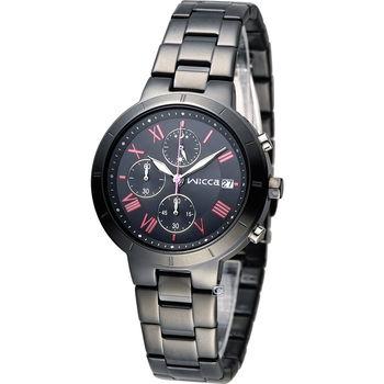星辰 CITIZEN WICCA 甜美繽紛俏麗腕錶 BM2-241-51 黑