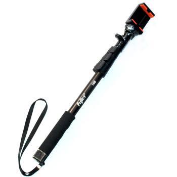 自拍王者★手機/相機鋁合金便攜式伸縮自拍桿
