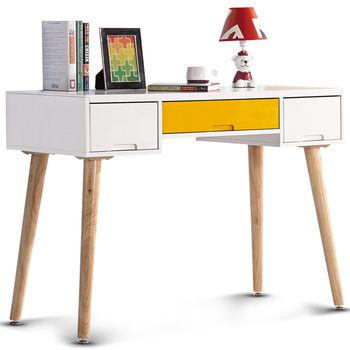 【日式量販】北歐撞色趣3.6尺書桌