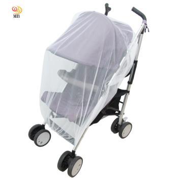 月陽通用型全罩鬆緊帶式兒童推車防蚊罩蚊帳(P508)