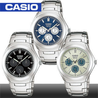 【CASIO 卡西歐】送禮首選-時尚簡約紳士錶(MTP-1247D)