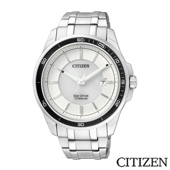 CITIZEN 星辰 Eco-Drive GENTS 光動能超級鈦紳士腕錶 BM6921-58A