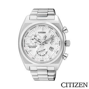 CITIZEN 星辰 GENT 時尚特務計時腕錶 BL8130-59A