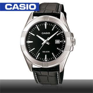 【CASIO 卡西歐】日系_大錶面紳士簡約時尚男錶(MTP-1308L)