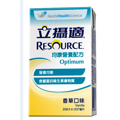 【RESOURCE 立攝適】均康-營養均衡配方-237mlX24入(香草口味)
