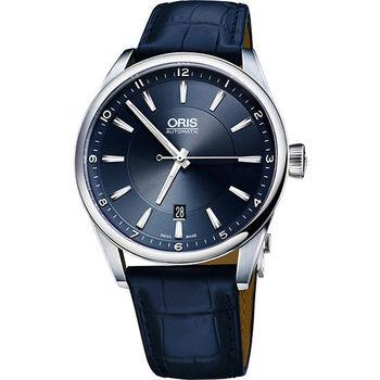 Oris Artix Blue 日期機械腕錶-藍/42mm 0173376424035-0752185FC