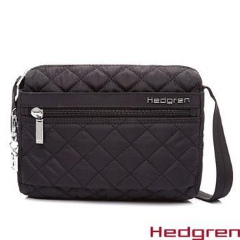【HEDGREN】HDIT -Diamond 鑽石系列-側背包-黑色